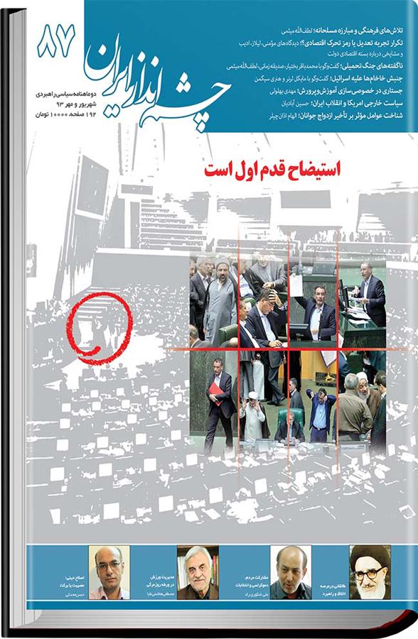 چشمانداز ایران - ۸۷