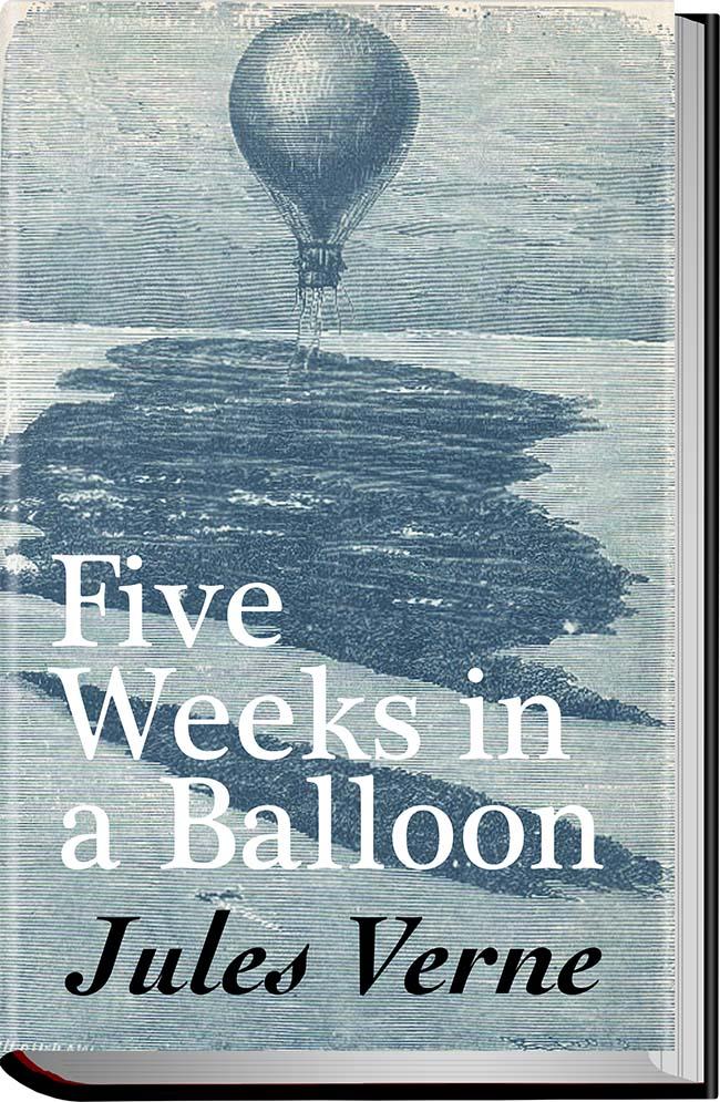 کتاب Five Weeks in a Balloon