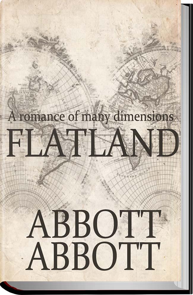 کتاب Flatland A Romance of Many Dimensions