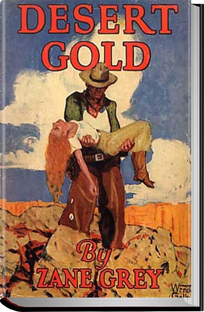 کتاب Desert Gold