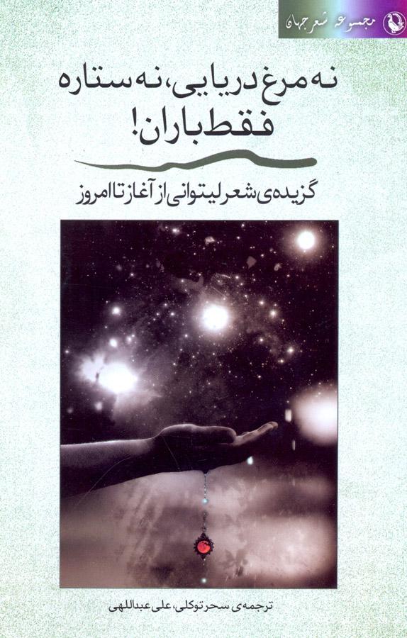 کتاب نه مرغ دریایی،نه ستاره،فقط باران
