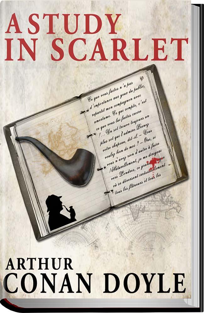 کتاب A Study in Scarlet
