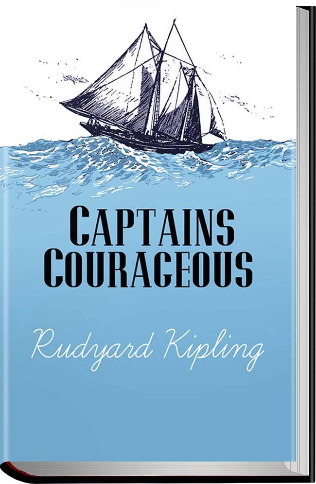 کتاب Captains Courageous
