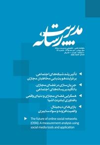 مجله ماهنامه علمی تخصصی مدیریت رسانه شماره ۲۶