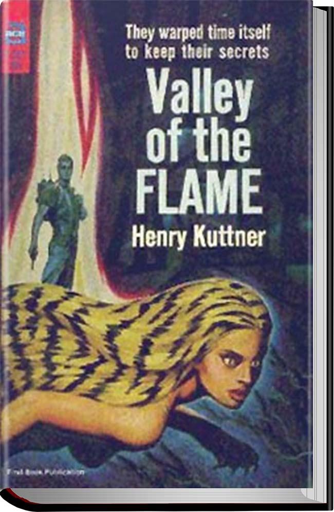 کتاب The Valley of the Flame