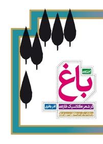 کتاب بررسی باغ در شعر کلاسیک فارسی و بازتاب آن در نقاشی سنتی ایران
