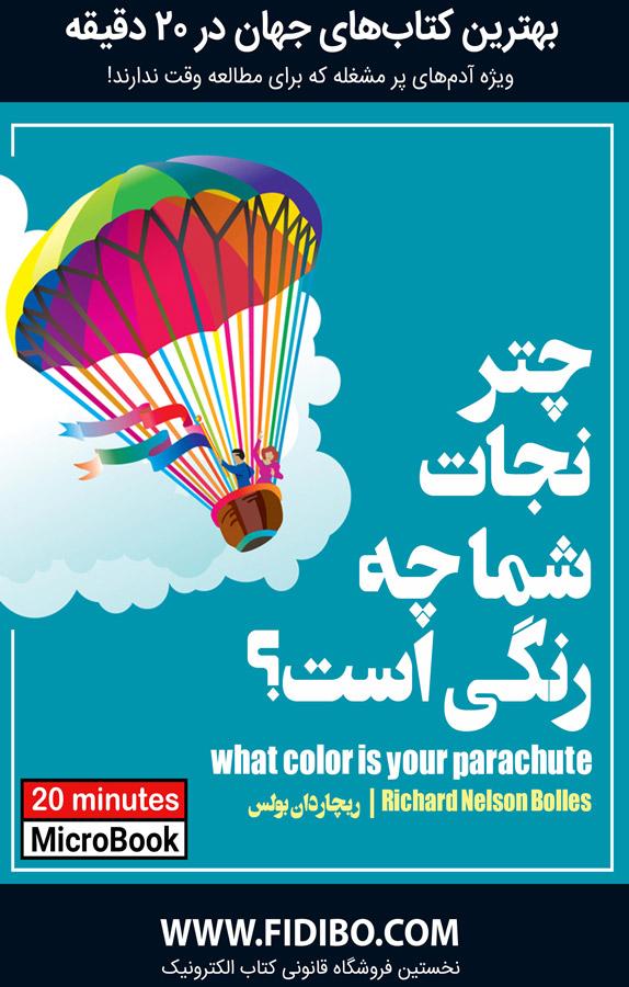 میکروبوک: چتر نجات شما چه رنگی است؟ (راهنمای عملی کاریابی و تغییر شغل)