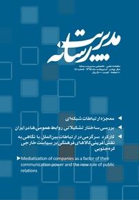 مجله ماهنامه علمی تخصصی مدیریت رسانه شماره ۱۸
