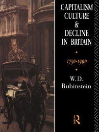 کتاب Capitalism, Culture and Decline in Britain