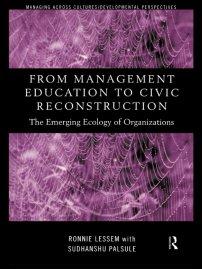 کتاب From Management Education to Civic Reconstruction