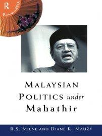 کتاب Malaysian Politics Under Mahathir