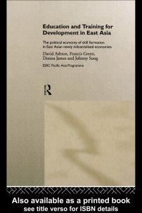 کتاب Education and Training for Development in East Asia