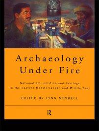 کتاب Archaeology Under Fire