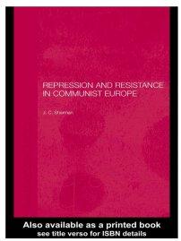 کتاب Repression and Resistance in Communist Europe