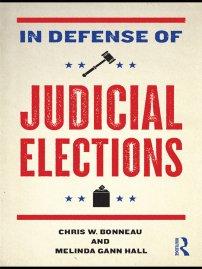 کتاب In Defense of Judicial Elections