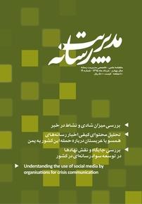 مجله ماهنامه علمی تخصصی مدیریت رسانه شماره ۱۹