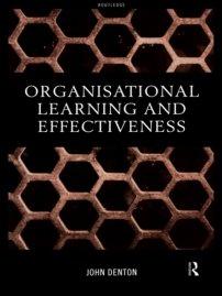 کتاب Organisational Learning and Effectiveness