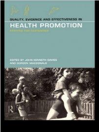 کتاب Quality, Evidence and Effectiveness in Health Promotion