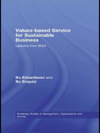 کتاب Values-based Service for Sustainable Business