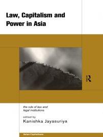 کتاب Law, Capitalism and Power in Asia