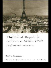 کتاب The Third Republic in France 1870 -1940