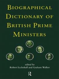 کتاب Biographical Dictionary of British Prime Ministers