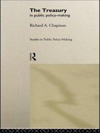 کتاب The Treasury in Public Policy-Making