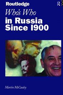 کتاب Who's Who in Russia since 1900