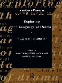 کتاب Exploring the Language of Drama