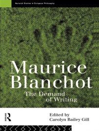 کتاب Maurice Blanchot