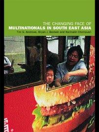 کتاب The Changing Face of Multinationals in South East Asia