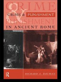 کتاب Crime and Punishment in Ancient Rome