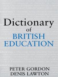 کتاب Dictionary of British Education