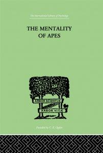 کتاب The Mentality of Apes