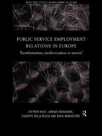 کتاب Public Service Employment Relations in Europe