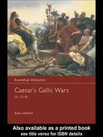 کتاب Caesar's Gallic Wars 58 -50  BC