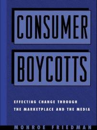 کتاب Consumer Boycotts