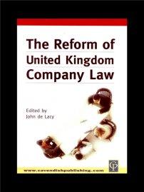 کتاب Reform of UK Company Law