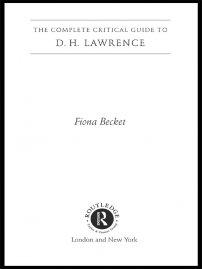 کتاب D.H. Lawrence
