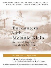 کتاب Encounters with Melanie Klein