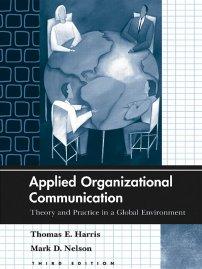 کتاب Applied Organizational Communication
