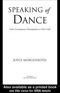 کتاب Speaking of Dance