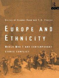 کتاب Europe and Ethnicity