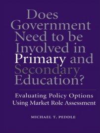 کتاب Does Government Need to be Involved in Primary and Secondary Education