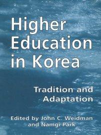 کتاب Higher Education in Korea