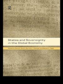 کتاب States and Sovereignty in the Global Economy