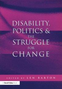 کتاب Disability, Politics and the Struggle for Change