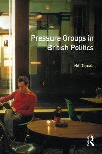 کتاب Pressure Groups in British Politics