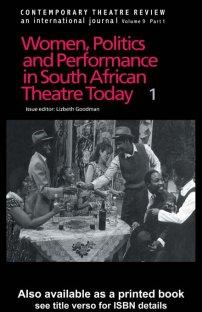 کتاب Contemporary Theatre Review