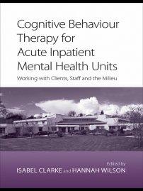 کتاب Cognitive Behaviour Therapy for Acute Inpatient Mental Health Units